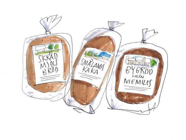 polarbröd/foodtohappen, sklisser produktidéer