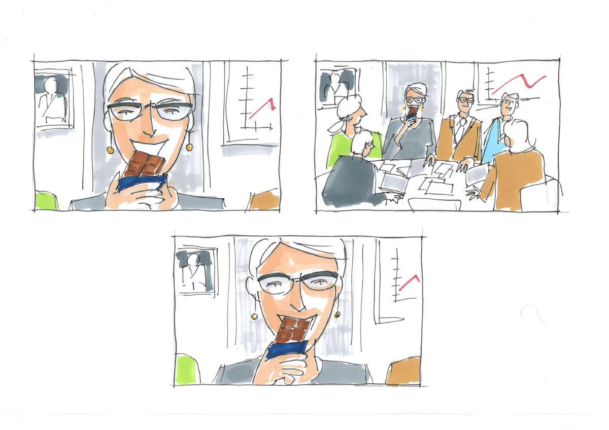 <strong>Fazer </strong> storyboard bilder