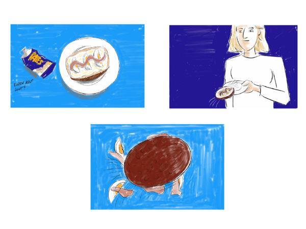 Kalles kaviar, storyboard bilder